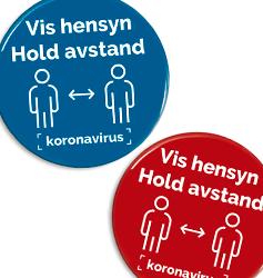 Korona virus buttons